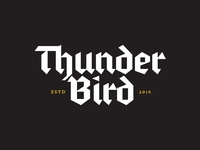 Thunder Bird Black