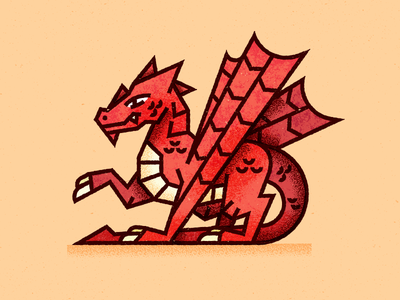 Ancient Dragon fire wings fly animal wizard magic dinosaur vector symbol illustration editorial medieval texture ohio dragons dd fantasy knight warrior dragon