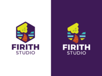 Firith Studio Identity studio video game game ohio bird grid akron tree nature vector typography branding icon symbol trademark geometric brand logo illustration identity