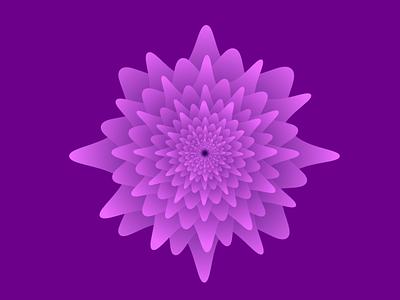 Repetitive floral design vector illustration design