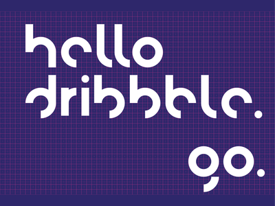 Hello Dribbble 🪐 flat debut xd adobe xd minimal homepage astronaut space dribble hello first shot hero header intro motion animation vector ux ui