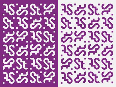 Sure Thing - tech startup logo & branding startup font geometric construction pattern modular typogaphy logotype ligature mystic alchemy symbol monogram throwback thursday throwback visual identity identity grid logo branding