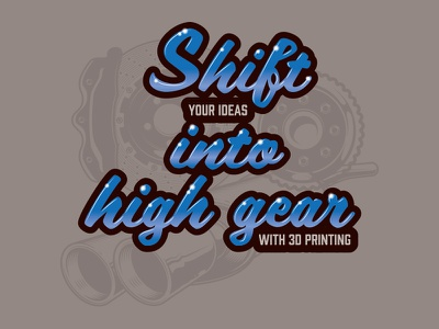 Shift into high gear brakes muffler parts type car show car automotive