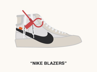 "Nike Blazers ""OFF WHITE"""