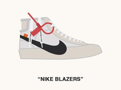 "Nike Blazers ""OFF WHITE"" sneaker nike blazers off white"