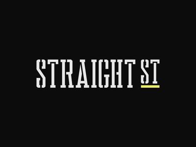 Straight Street Wordmark