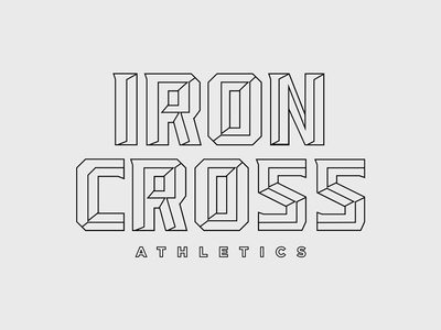 Iron Cross Type Outlined