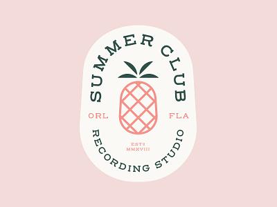 Summer Club Emblem WIP beach casino wip pop band florida orlando recording studio summer club