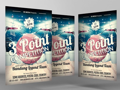 Charming Competition Flyer Template Images Resume Ideas Bayaarfo