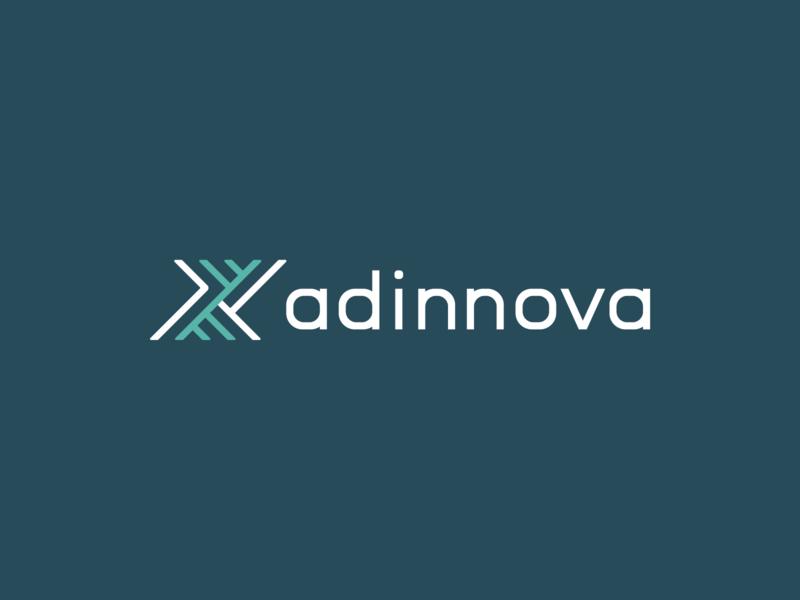 Adinnova Logo Design construction engineering building bim architecture logomark logotype branding logo visual identity logo design