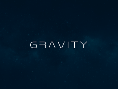 Gravity astronomy space gravity type typography custom font font