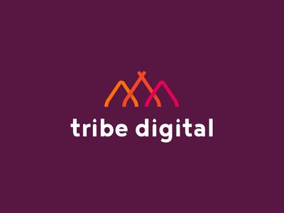 Tribe Digital Logo Design