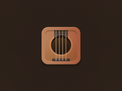 Bass icon app musical icon musical instrument vector square bass guitar bass illustration icon design icon set icon