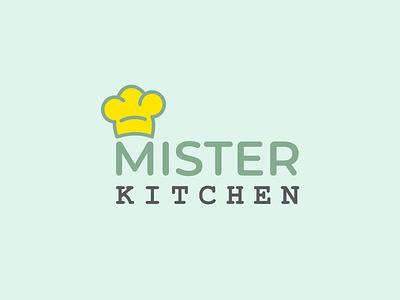 Mister kitchen Logo hotel logo bar logo design illustration simple logo minimal logo logo resturant logo