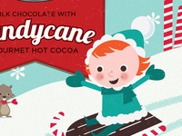 Stephen's Hot Cocoa Holiday Packaging - Candycane