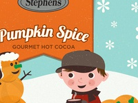 Stephen's Hot Cocoa Holiday Packaging - Pumpkin Spice