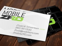 Mobile ZRO Business Card