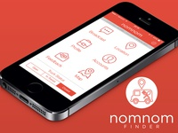 NomNom Finder App - Truck Dashboard