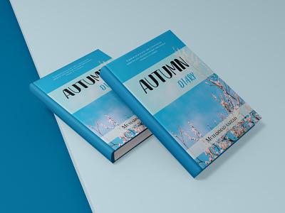 """Book Cover- """"AUTMN DAIRY"""" graphic design illustration book cover design book cover"""