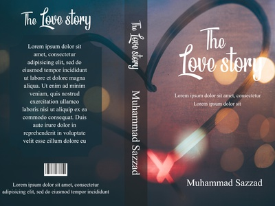 """Book Cover- """"THE LOVE STORY"""" photoshop design book illustration graphic design book cover design book cover"""