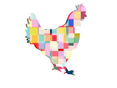 DSCO CHKN CREATIVE color theory branding graphic design logo