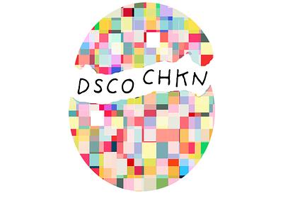 DSCO CHKN CREATIVE branding color theory logo design logo graphic design