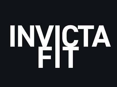 Invicta Fit Logo logo design branding graphic design