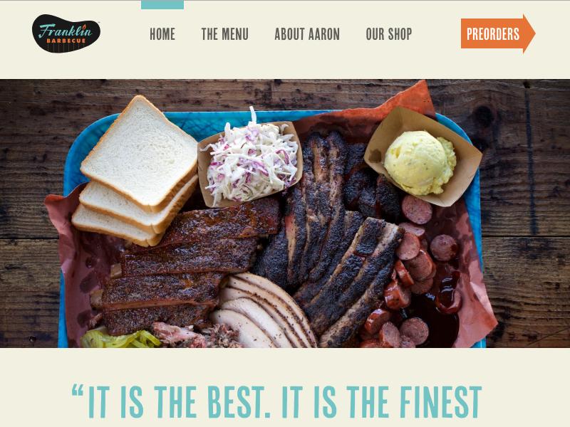 Franklin Barbecue bourdain texas austin burnt-ends bbq barbecue restaurant website