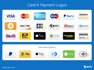 Credit Card & Payment Logos (Freebie)