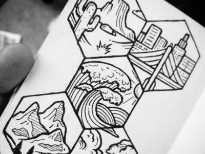 Places - Sketchbook places illustration drawing design sketch