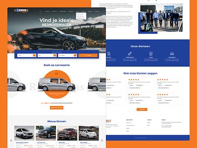 Car Rental Service Website Design car rent car rental uidesign interactive ui design responsive website webdesign design ux ui