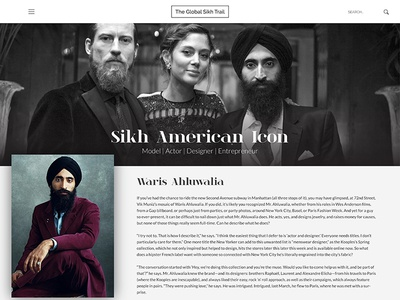 The Global Sikh Trail