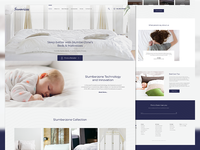 Slumberzone Website Design