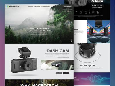 Macrotech Website Design