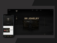 RR Jewellery Responsive Website