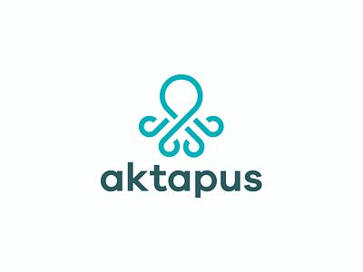 Aktapus tentacles inks swim fish ocean sea animal octopus