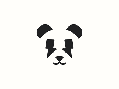 Electro Panda speed flash electric thunder bamboo forest animal panda bear panda