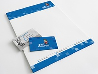 8 Bit Human - Letterhead and Business Cards