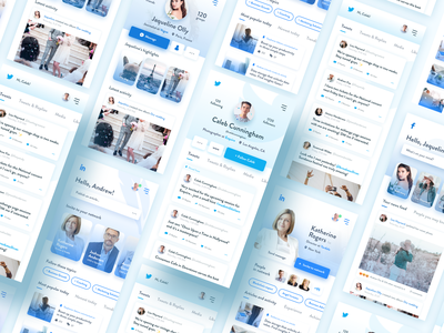 Social apps minimalistic lightweight redesign ☁️ lightweight minimalism minimalistic minimal uidesigner interfacedesigner interfacedesign socialmedia social media social network socialapp social interface redesign design ux ui app