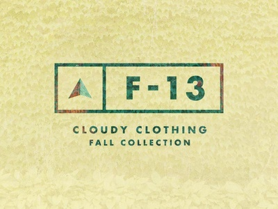 Cloudy Clothing Fall Collection 2013