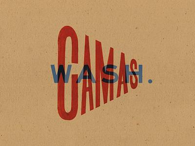 Camas, Washington lettering type west washington camas