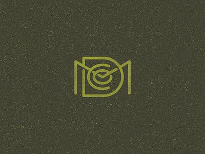 MDCo Monogram identity branding logo badge typography monoweight lettering monogram