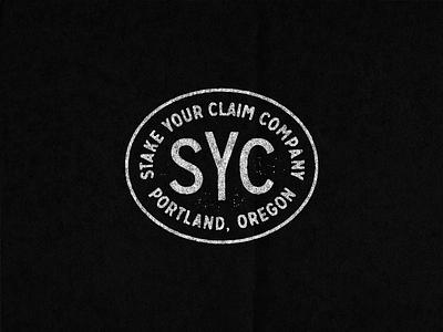Stake Your Claim Badge design badge oregon portland stakeyourclaim