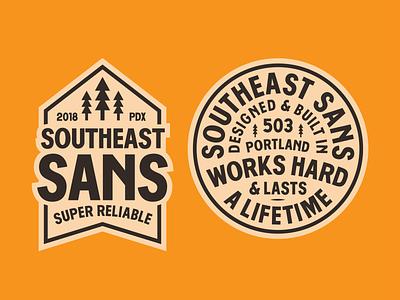 Southeast Sans customfont sanserif southeastsans font typedesign