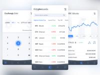 CyrptoMania App Design