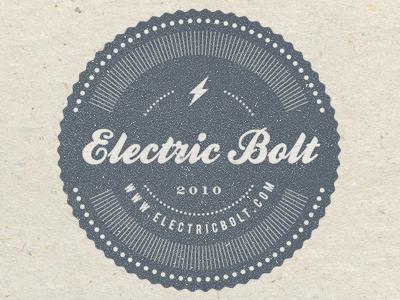 Electric Bolt Stamp stamp