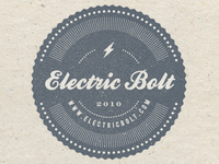 Electric Bolt Stamp