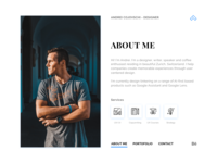 Personal Website Home