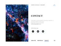 Personal Website Contact