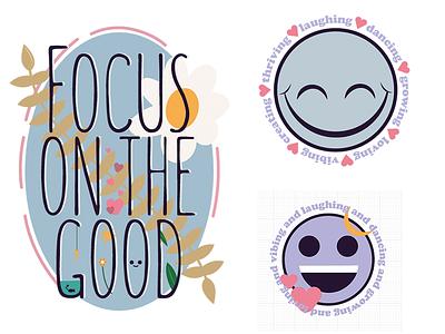 Cute designs for selflove stickers illustration graphic design